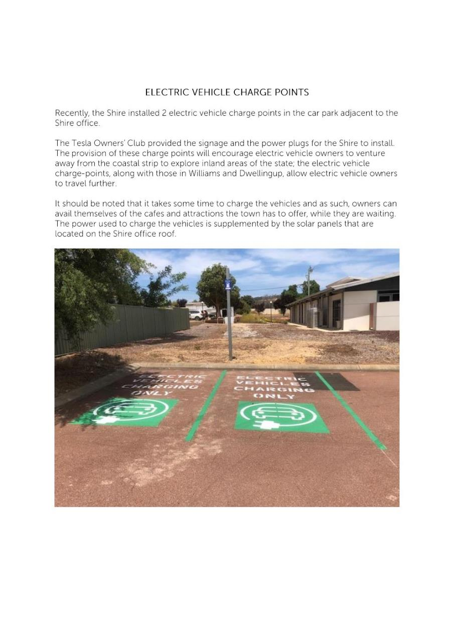 ELECTRIC VEHICLE CHARGE POINTS IN BODDINGTON