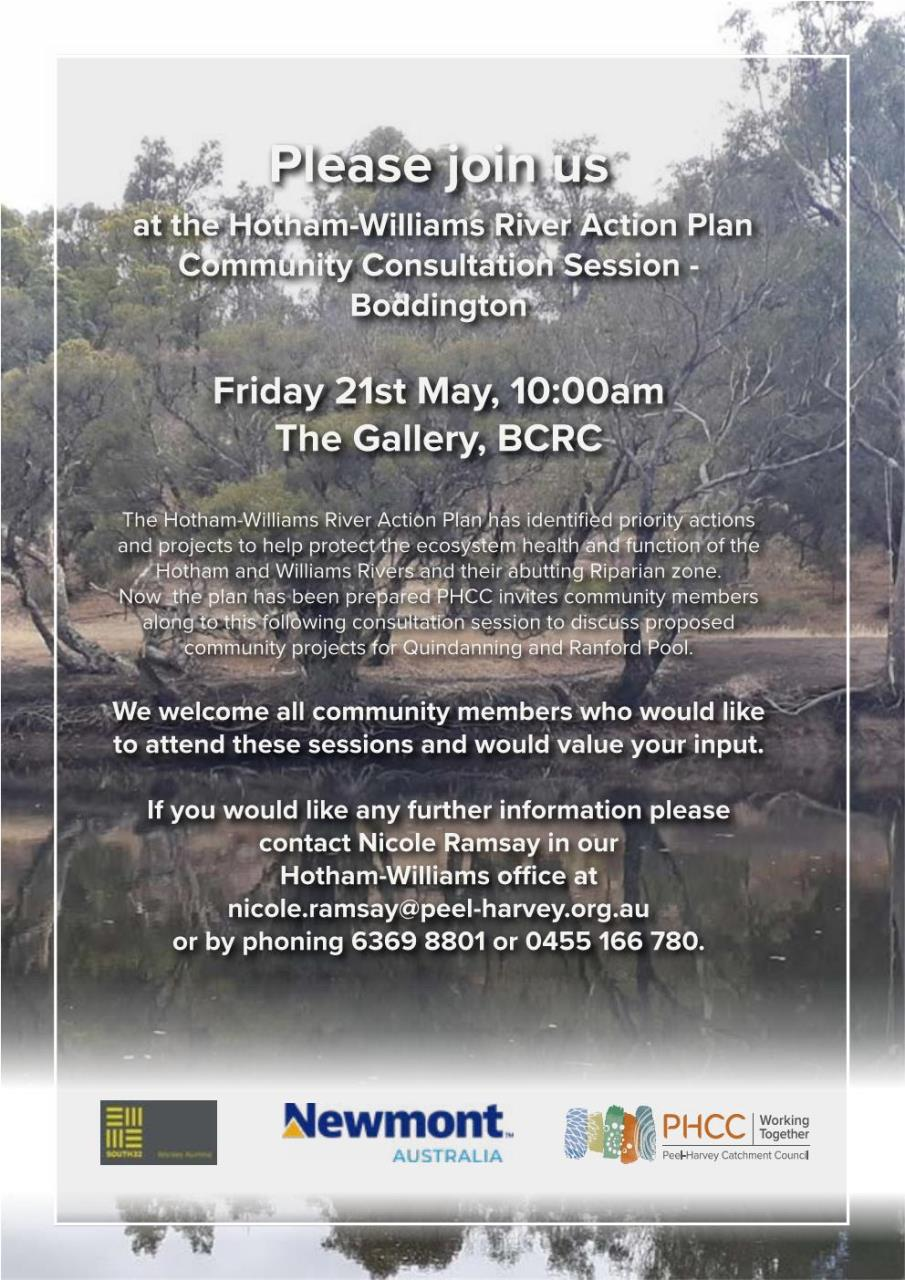 HOTHAM WILLIAMS RIVER ACTION PLAN
