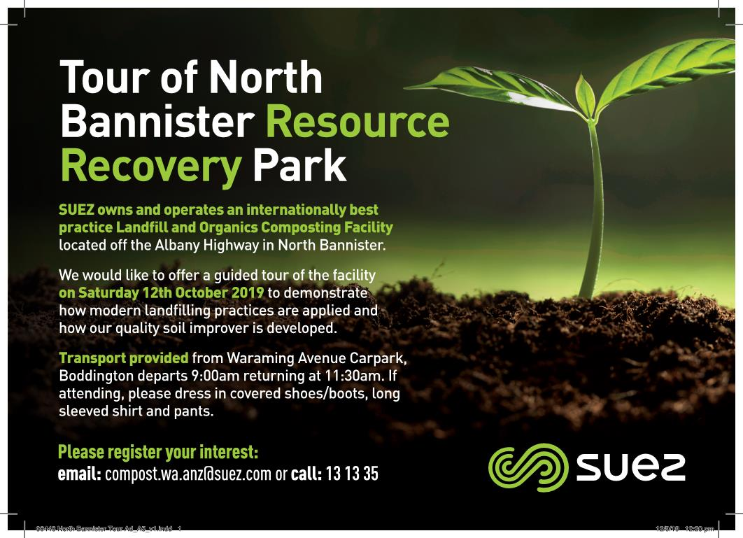 TOUR OF NORTH BANNISTER RESOURCE RECOVERY PARK