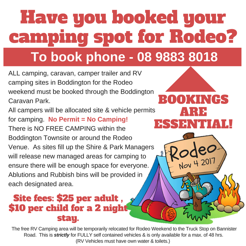 Rodeo Camping