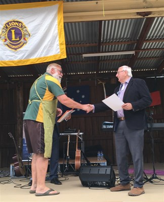 AUSTRALIA DAY 2019 - Boddington Lions Club - Nominee for Community Group Award