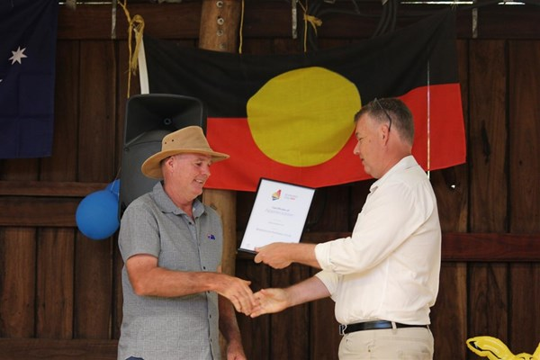 Australia Day 2018 - Boddington Football Club - Certificate of Appreciation