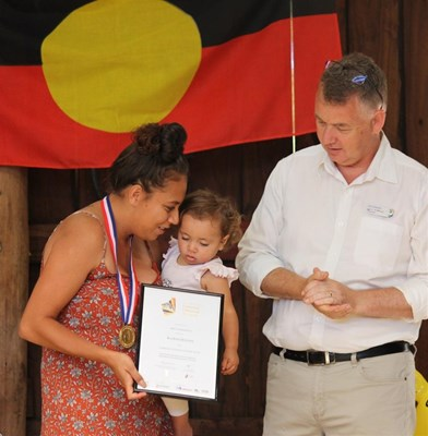 Australia Day 2018 - Kiarnie Haynes - Community Citizen of the Year Youth Category