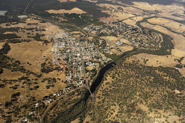 General - Aerial view of the town