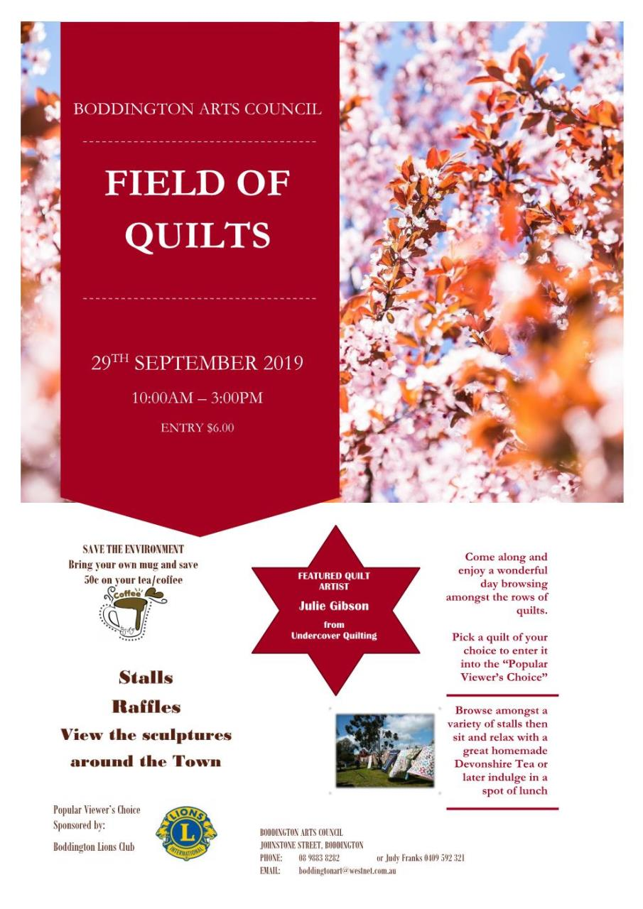 FIELD OF QUILTS