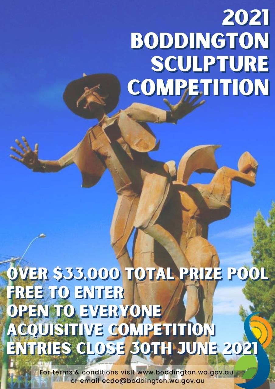 2021 Boddington Sculpture Competition