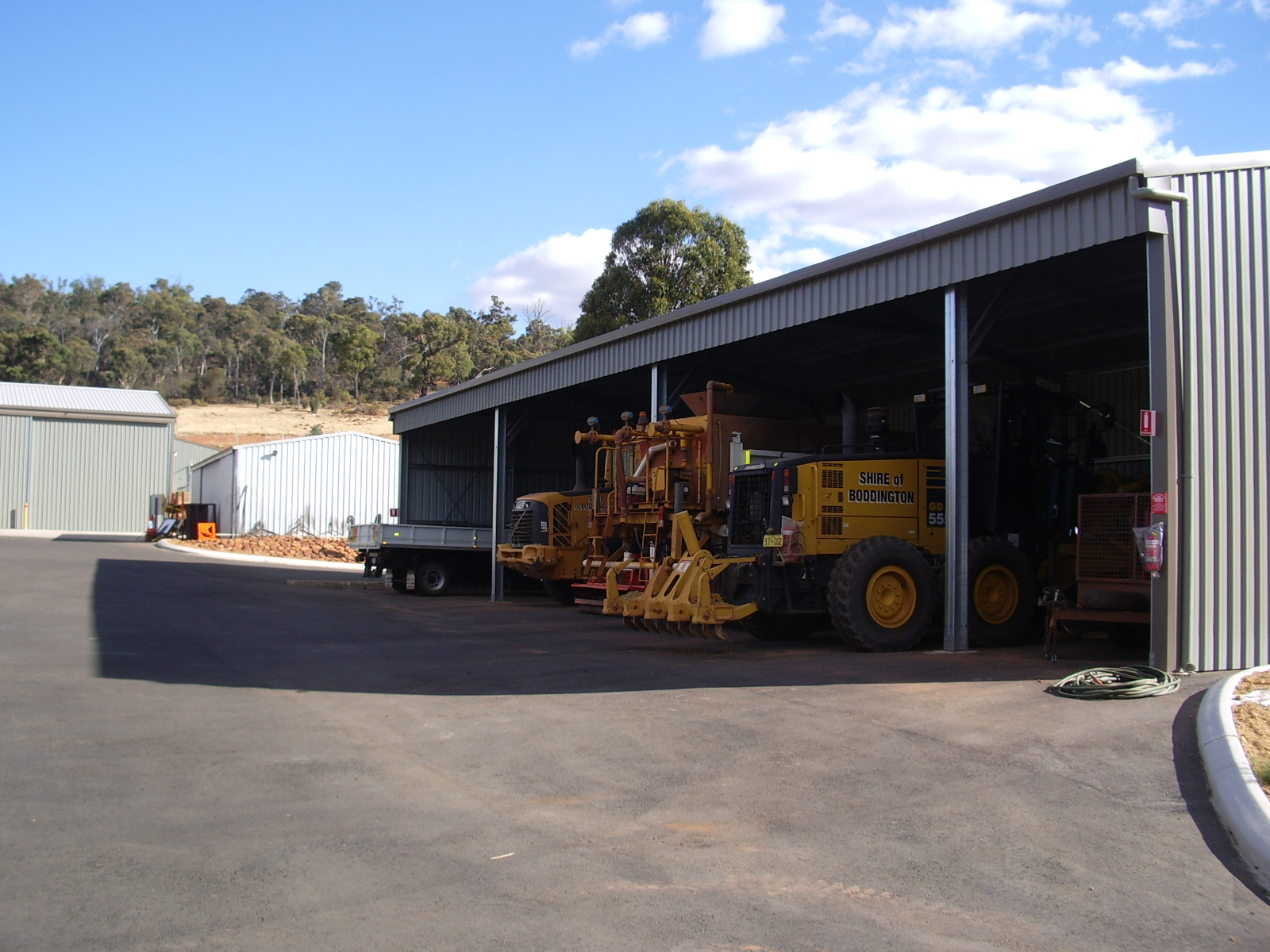 Shire Depot Relocation